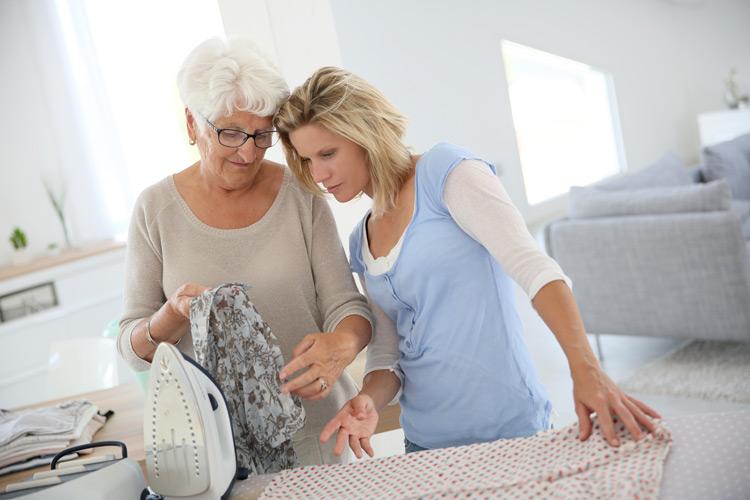 Hilfe in Bereich Hauswirtschaft bei Pflegedienst Sanus